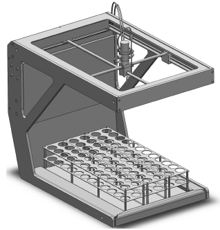 Development of a high-performance and low-cost fraction collector
